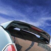 SHCHCG ABS Plastic Unpainted Primer Rear Trunk Wing Roof Spoiler For Toyota Land Cruiser Prado FJ120 4000 2700 Spoiler 2003 2009