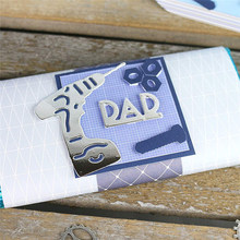 YaMinSanNiO Letter Metal Cutting Dies Scrapbooking Stitch Die Cut Craft Troqueles Embossing Stencil Easter