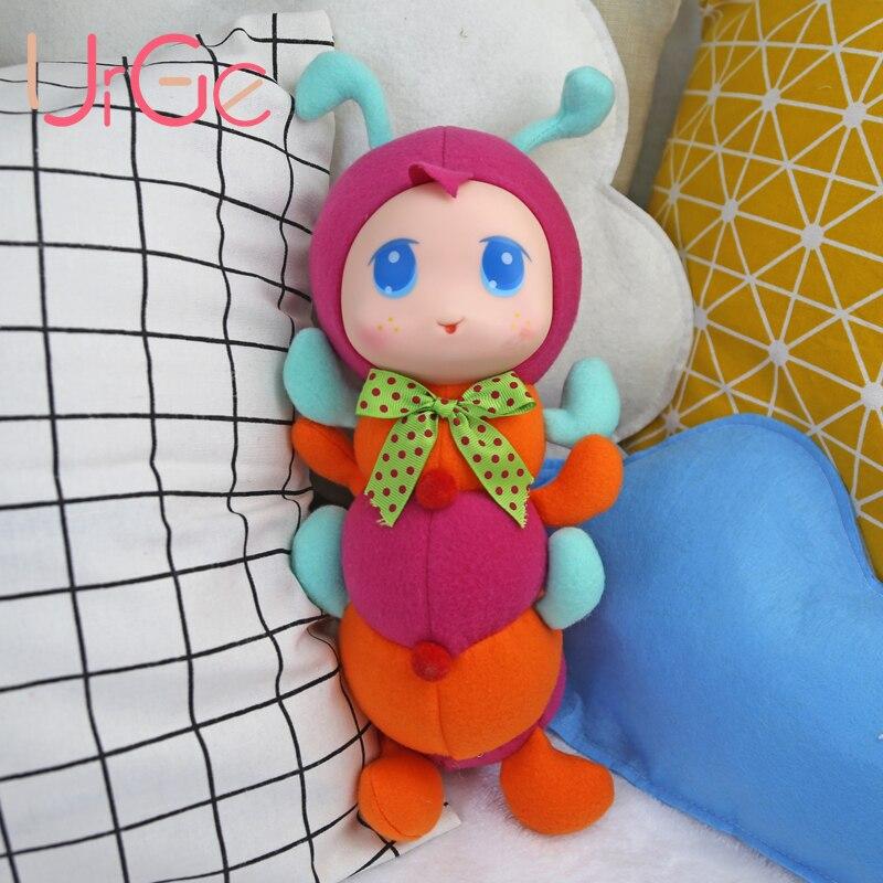 Անվճար առաքում մուլտֆիլմերի փափուկ մանկական տիկնիկներ պլուշլիկ տիկնիկ երեխաների համար վերածնված խաղալիքներ Ծննդյան տոնի նվեր URGE 40 սմ տիկնիկ