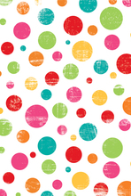 HUAYI Colourful Polka Dots Backdrop Art Fabric Newborn Drop Children Photography Prop Photo Background Z-11