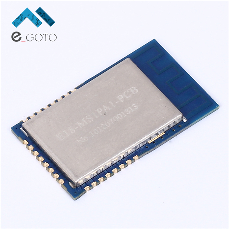 E18-MS1PA1-PCB 2.4GHz 800m CC2530 + CC2592 Wireless RFID Transceiver Module PA Zigbee PCB Antenna I / O Port IOT