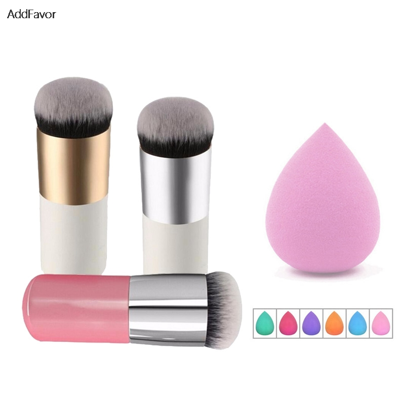 1pc 3d Silicone Blending Cosmetic Powder Puff For Bb Cream Liquid Foundation Face Powder Makeup Puff Make Up Tool Soft And Antislippery Cosmetic Puff
