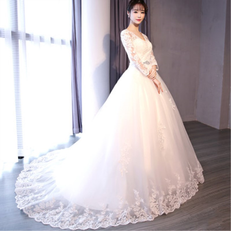 Ruthshen New Arrival 2018 Hot Sell Vintage A Line Ivory