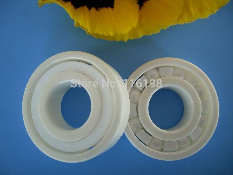 high quanltiy 6002 full ZrO2 ceramic deep groove ball bearing 15x32x9mm P5 ABEC5 gcr15 6036 180x280x46mm high precision deep groove ball bearings abec 1 p0 1 pcs