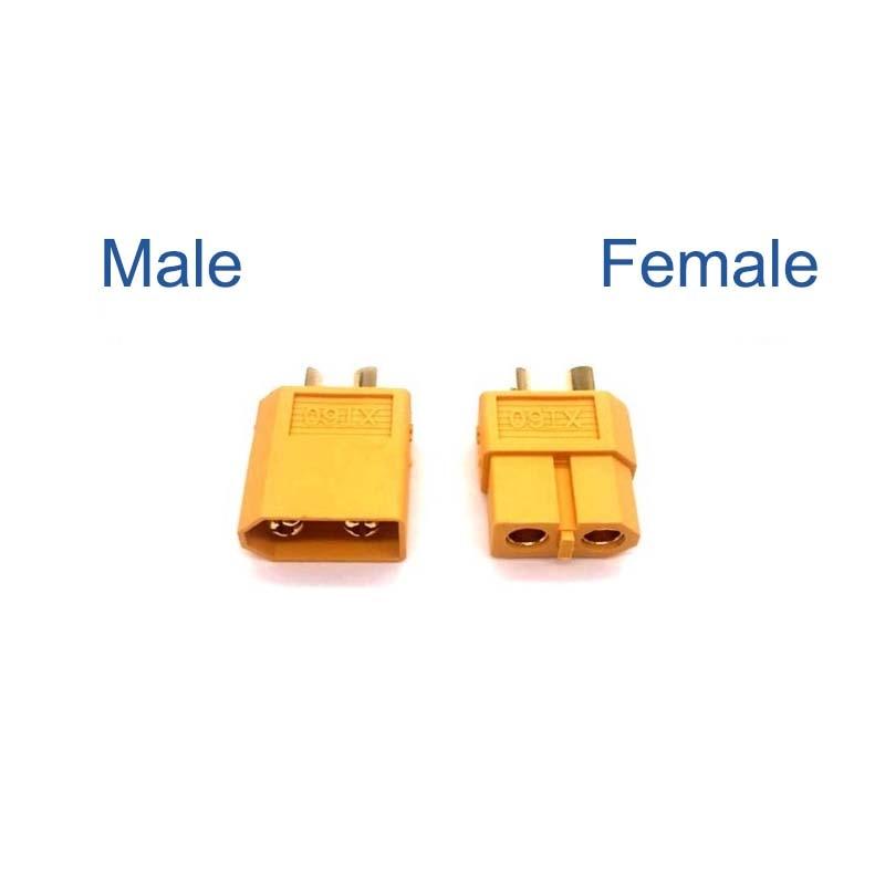 10pcs / 5pairs  XT60 XT-60 Male Female Bullet Connectors Plugs For RC Lipo Battery 5