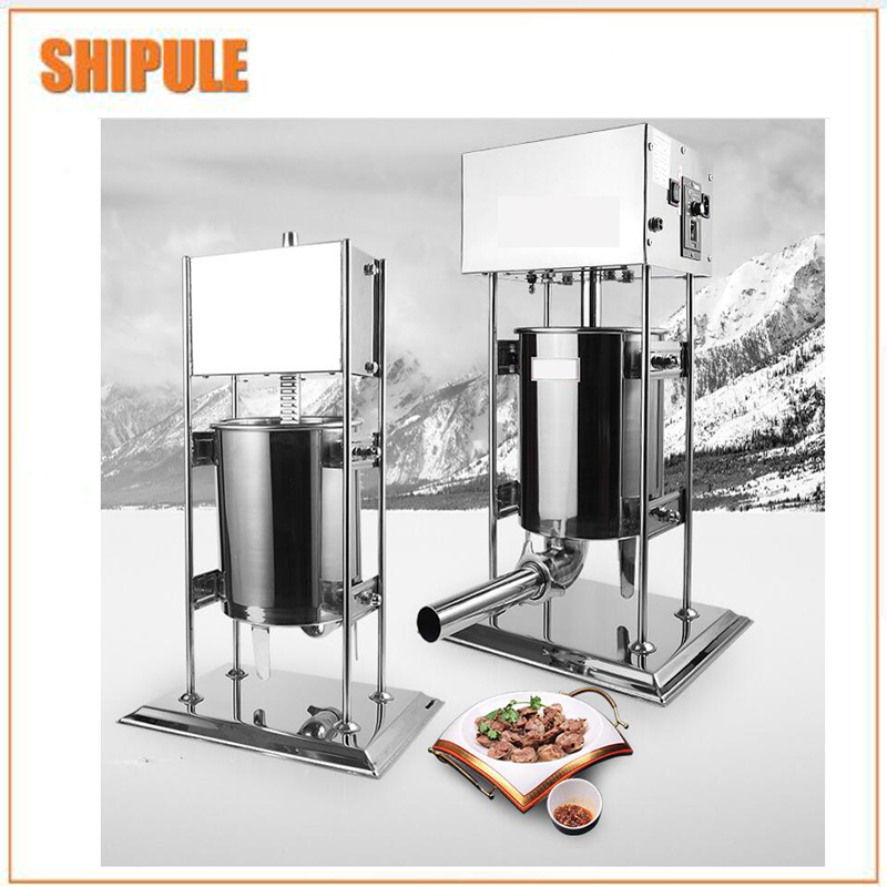 15L Stainless Steel Vertical Restaurant Home 110v 220v Electric Auto Sausage Making Machine15L Stainless Steel Vertical Restaurant Home 110v 220v Electric Auto Sausage Making Machine