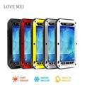 Любовь мэй a8 a8000 водонепроницаемый противоударный закаленное гориллы стекло металл алюминиевый чехол для Samsung Galaxy a8 телефон чехол