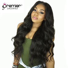 hot deal buy premier lace wigs 360 lace wigs body wave brazilian virgin human hair,150% thick density,pre plucked hairline [360lw09]