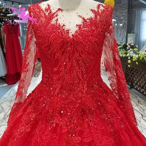 Image 3 - AIJINGYU свадебное платье Ливан великолепные платья Распродажа роскошное кружевное платье Бохо вечернее свадебное платье es