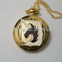 New Attack on Titan Military police regiment Pocket Watch 1p