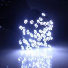 AC100-240V 10 м 100 светодиодный 8 ModesPVC провода огни украшения Гирлянда Свадебный светодиодный Сказочный свет с вилка