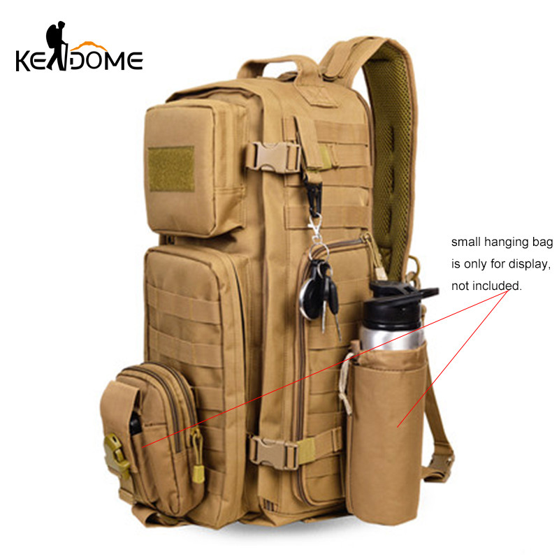Outdoor Military Camouflage Rucksacks Large Capacity Tactical Backpacks Women Men Mountaineering Camping Traveling Bag XA605WD outlife new style professional military tactical multifunction shovel outdoor camping survival folding spade tool equipment