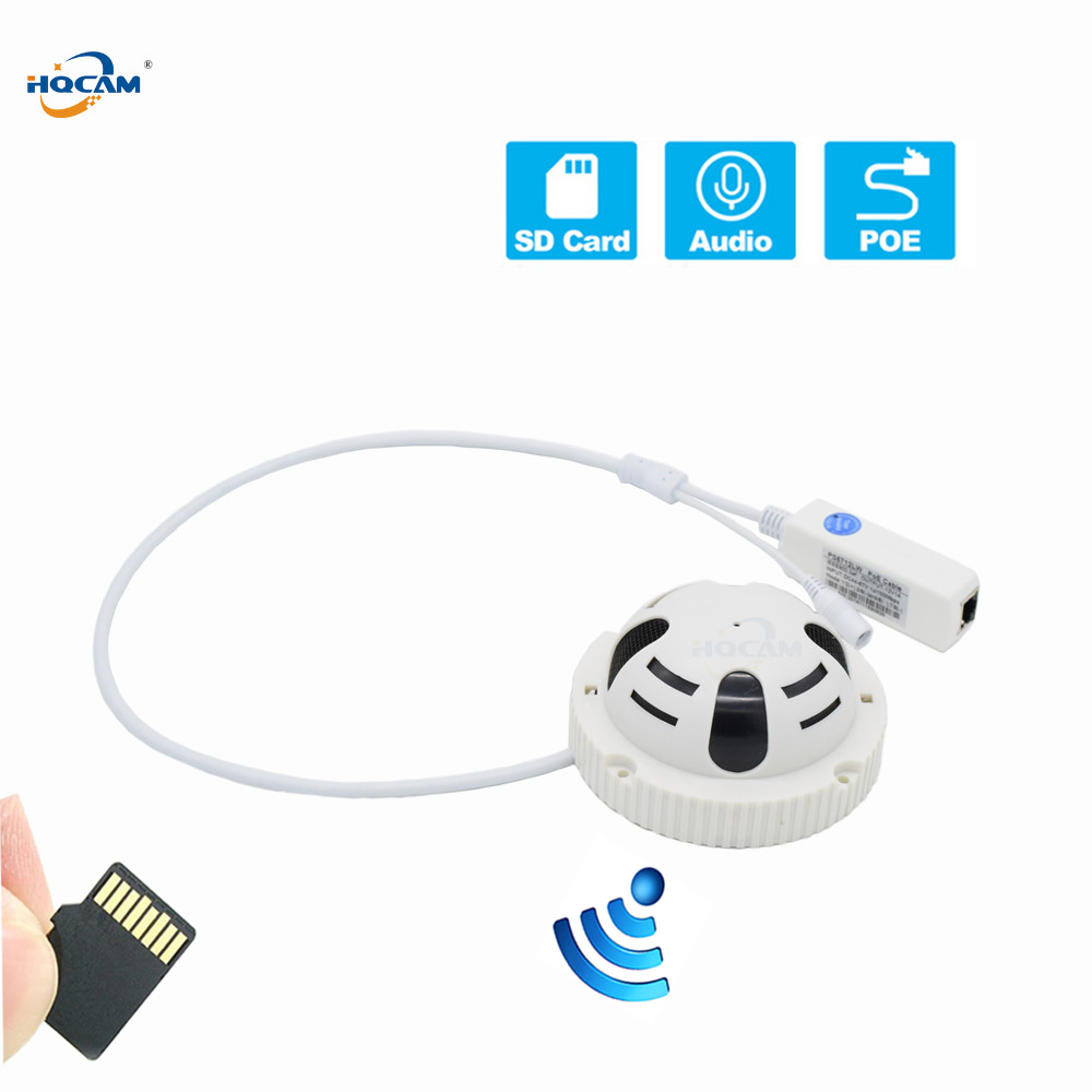 HQCAM Wifi POE Audio TF Card slot 720P 960P 1080P mini IP camera P2P Security Network IP Camera SECURITY HOME SECURITY SD H.264