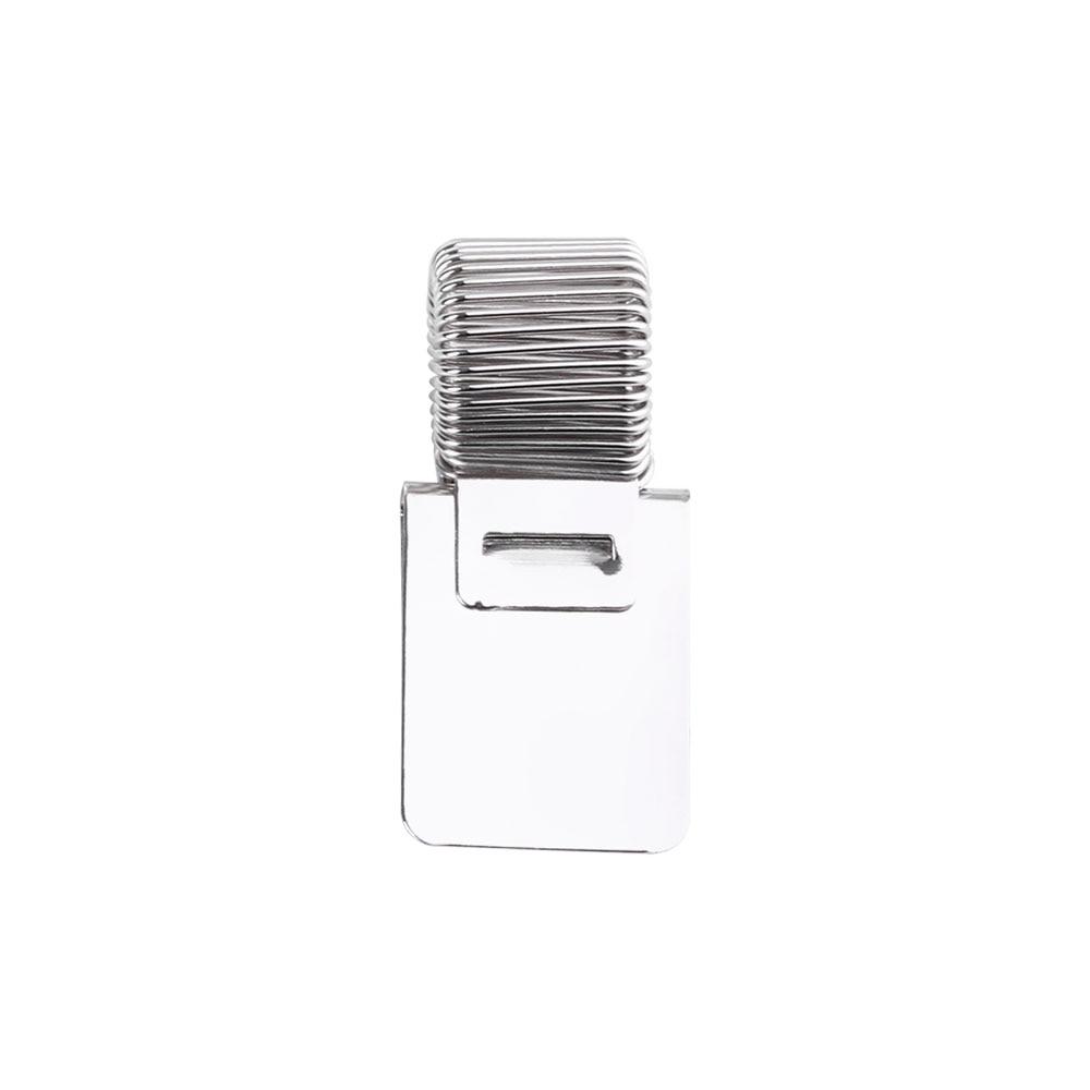 1 предмет одноместный/двухместный/тройной отверстие металлическая пружина для ручек держатель с зажимом для кармана врач-медсестра форма подставки для ручек, офисные и школьные принадлежности - Цвет: 1