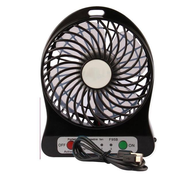 Usb переносной мини-вентилятор электрический вентилятор Led портативный Настольный охлаждающий воздух вентилятор портативный кондиционер вентилятор