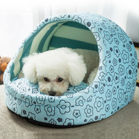 Dog kennel can unpick and wash in the fall and winter seasons pet litter cat litter teddy kennel dog house dog bed pet supplies