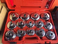Сделано в Тайване 18 шт. Универсальный Масляный фильтр гаечный ключ Набор автомобильных инструментов для удаления автомобиля тип чашки авто
