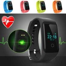 Bluetooth smart watch herzfrequenz monitor touchscreen mit herzfrequenz fitness tracker ios und android smartwatch smart uhr
