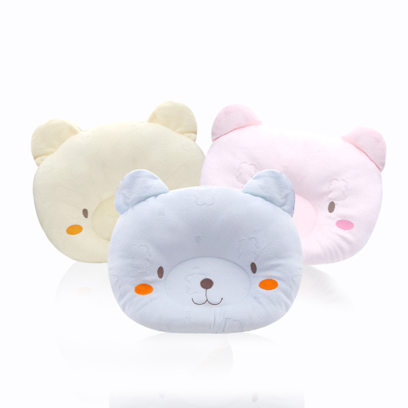 Top Newborn Baby Head Shaping Pillow Baby styling anti-bias head type pillow Prevent The Baby From  Falling Protect Baby Pillow