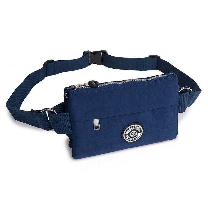 Waist Bags For Women Waterproof Nylon Light Fanny Bags Multi Pockets Travel Bum Packs Ladies Casual Wallet Phone Pouch Belt Bag