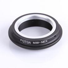 Кольцо адаптер FOTGA для объектива Leica L39 M39, для Sony, E Mount NEX3, NEX5, 5, 5, r, адаптер для крепления на объективе для Sony, переходное кольцо для объектива для Leica L39, M39, E Mount, NEX3, NEX5, 5, 5, 5, 5, 5, 5, 5, 5, 5, 5, 5, 5, 5, 5, 5, 5, 5,