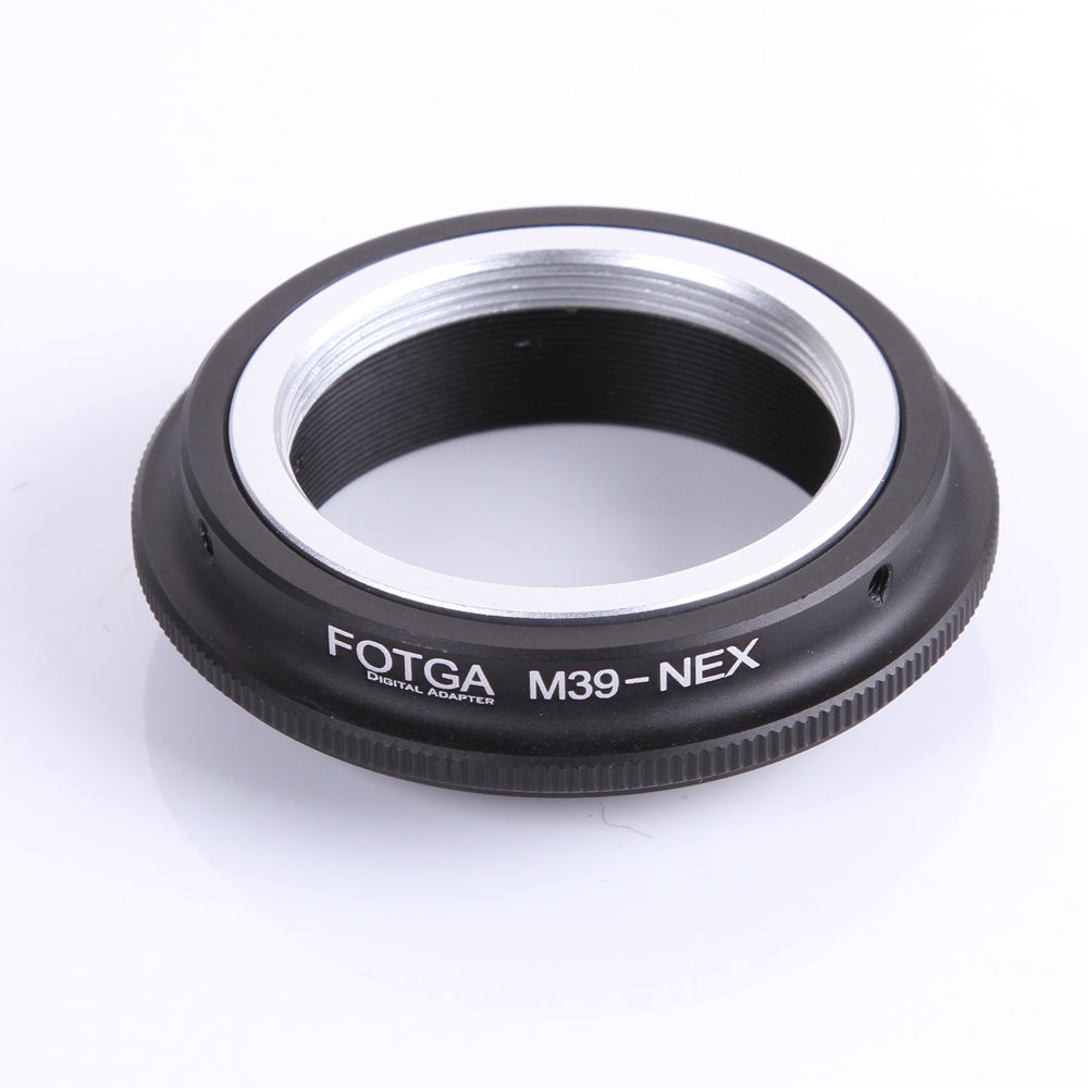 FOTGA Lens Adapter Ring for Leica L39 M39 Lens to Sony E-Mount NEX3 NEX5 NEX-5N 5R NEX-7 NEX-6 Adapter meida universal speedlight to hot shoe adapter for sony nex 3 nex 3c more silver