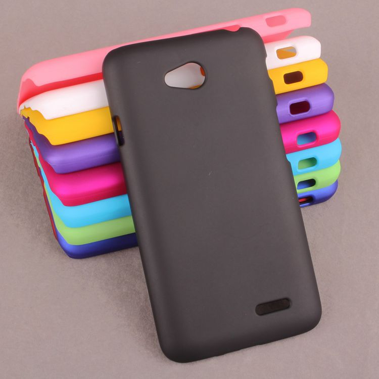 online retailer 4a545 7bffe US $2.54  Hard Plastic Cell Phone Cases Shell Matte Back Cover Protector  For LG L70 Dual Sim Card D325,High Quality,Freeshiping on Aliexpress.com    ...
