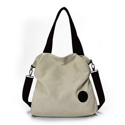 Aliexpress.com : Buy 2017 Casual Beach Woman Canvas Bags Women ...