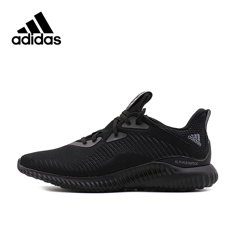 739ca2d05 Adidas Original New Arrival Authentic Alpha Bounce Breathable Men s Running  Shoes Sports Sneakers BW0539 BW0544. US  92.97