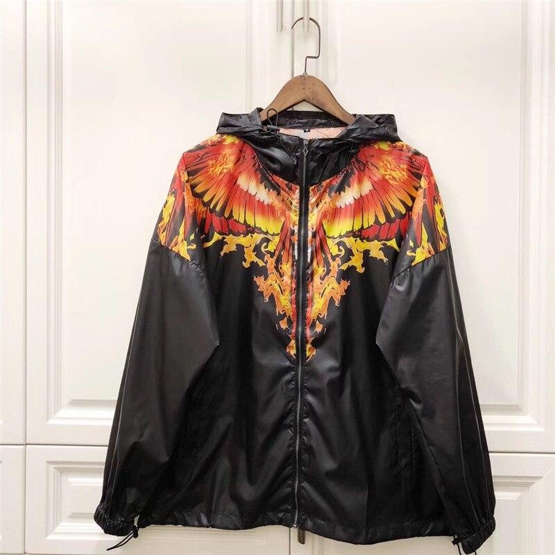 New Marcelo Burlon Jackets Men Women Outdoor Sunscreen Italy Brand Windbreaker Wings Vetements Soft Marcelo Burlon Mb Jackets