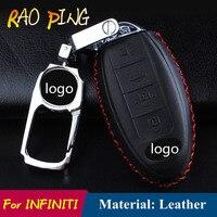 Car Key Cover Case For Infiniti EX FX G25 G37 FX35 EX25 EX35 FX37 EX37 Q60