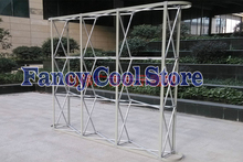 Wedding Flower Wall Stand Aluminum Flower Backdrop Frame Pipe Good Quality wedding props