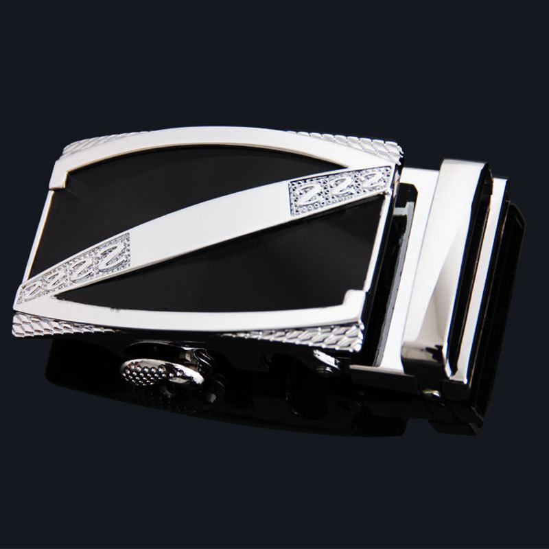 VOHIO Fashion cinto masculino high-quality automatic men's h belt buckle Suitable for 3.5 wide belt body gold silver buckle gg