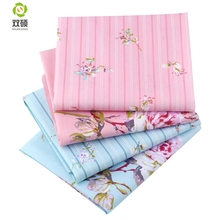 Patchwork Cotton Fabric Fat Quaters Tilda Cloth Quilting Patchwork Fabrics For Sewing Doll Choth 20pcs/lots 40*50CM(Hong Kong,China)