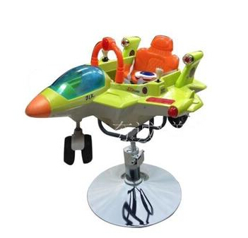 The latest baby haircut chair. Children's haircut. Modelling of fighter music haircut chair