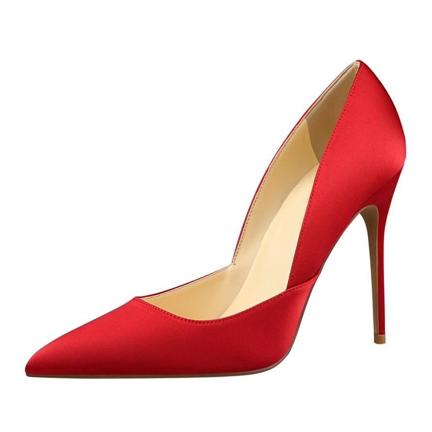 d7d89129dfe  D Henlu  Brand Women s Shoes Sweet Big Bow High Heels Women Pumps Stiletto  Thin Heel Pointed Toe Hollow High-heeled Shoes 10cm