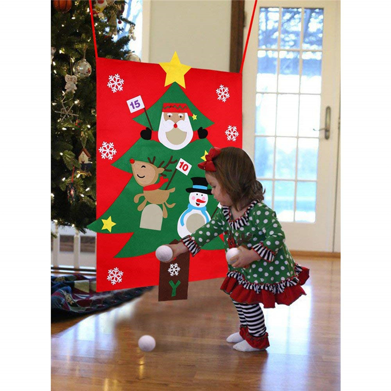 Christmas Decoration for Home Tree Hanging Toss Game Party ...