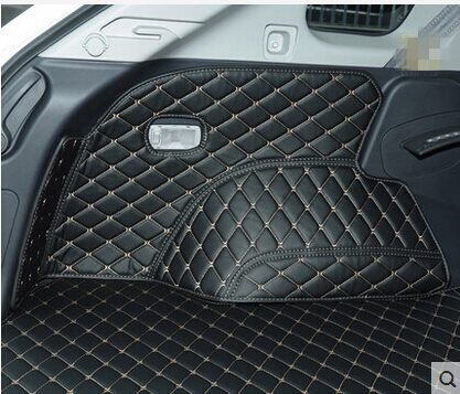 CHOWTOTO AA Special Trunk Mats For Renault Koleos Easy To Clean Durable Boot Carpets For Koleos Lagguge Pad