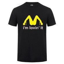 69822645 Tricolor I'm Loving It Inapropriate Offensive Sex T Shirt Men Funny Humor  Joke Rude