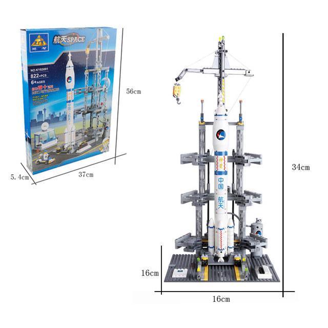 Kazi Building Blocks Toys Space Shuttle Rocket Station Compatible With Bricks