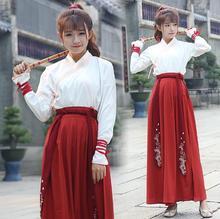 2018 new chinese tang dynasty ruqun hanfu suit cosplay women full sleeve dress costume hanfu costume chinese dance costumes цена 2017