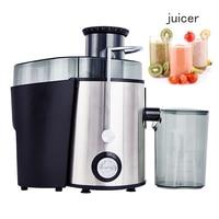 electric fruit Juicer machine masticating vegetable home kitchen appliances stainless steel Fruit Juice Separation blende 250W