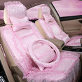 girl lace car seat cushion cover full set fashion car styling car accessories for chevrolet GFHW 1461