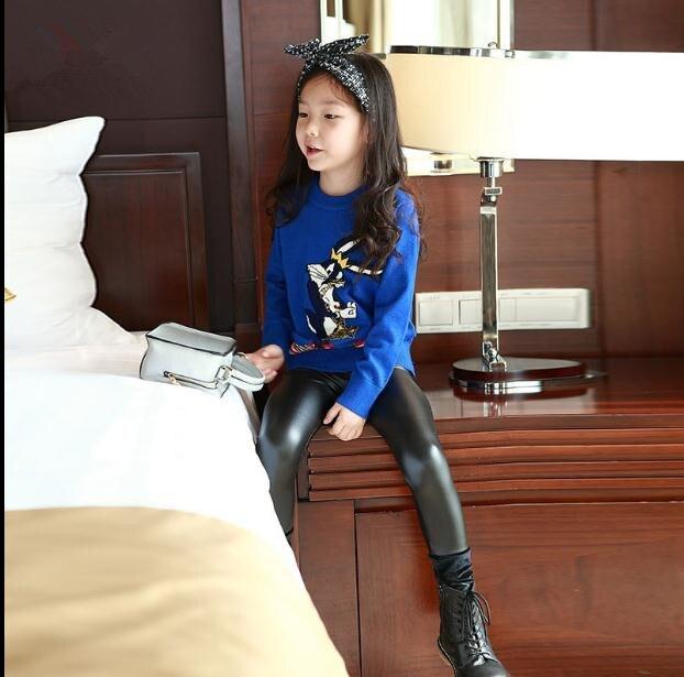 Leather pants teen