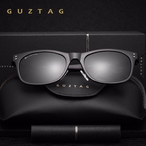 Image 3 - GUZTAG Sunglasses Aluminum Square Men/Women Polarized Mirror UV400 Sun Glasses Eyewear Sunglasses For Men oculos de sol G9201