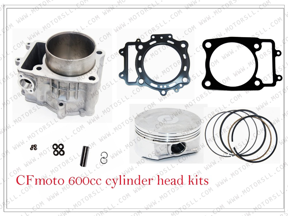 CF625 / Z6 / Z6EX / 196S CF600 X6 PARTS NO.IS 0600-023100 üçün CYLINDER / CYLINDER GASKE / PISTON / PIN / RINGS / CIRCLIP / VALVE