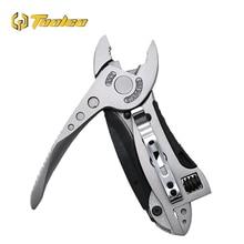 Toolgo Multitool Pliers Pocket Knife Screwdriver Set Kit Adjustable Wrench Jaw Spanner Repair Outdoor Multi Hand Tool стоимость