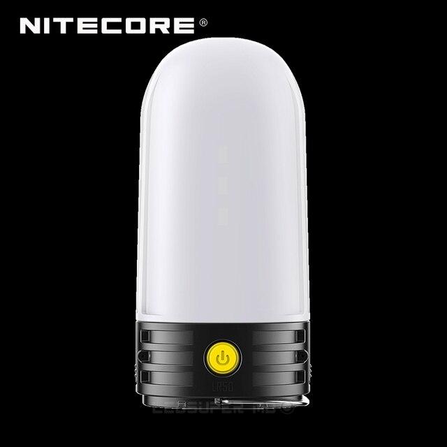3 em 1 nitecore lr50 campbank como power bank + lanterna de acampamento + carregador de bateria