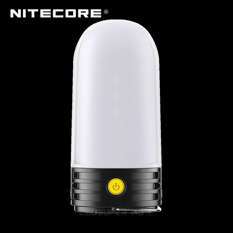 3 en 1 NITECORE LR50 Campbank comme batterie externe + lanterne de Camping + chargeur de batterie