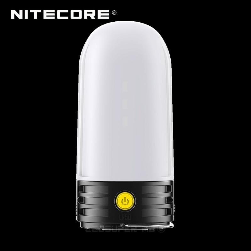 3 In 1 NITECORE LR50 Campbank As Power Bank + Camping Lantern + Battery Charger